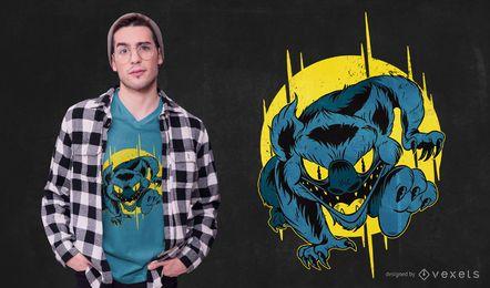 Diseño de camiseta Monster de carga