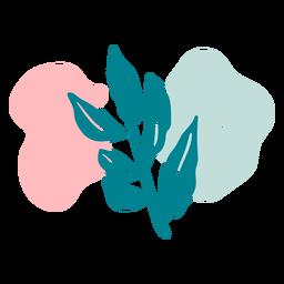 Planta do mar plana