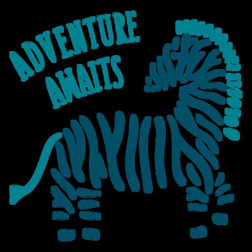 La aventura aguarda la insignia