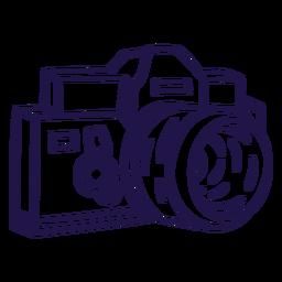 Analog camera stroke