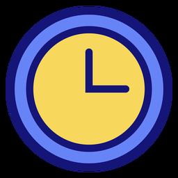 Reloj analógico icono reloj