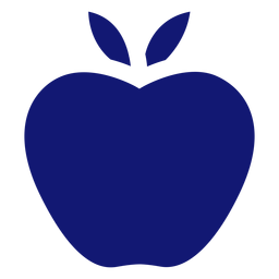 Apple icon blue