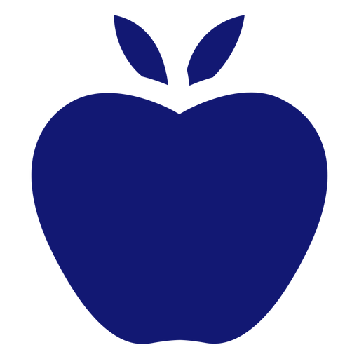 Apple icon blue Transparent PNG
