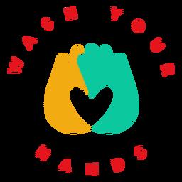 Insignia lávate las manos