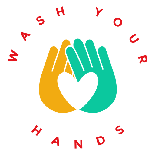 Badge wash your hands