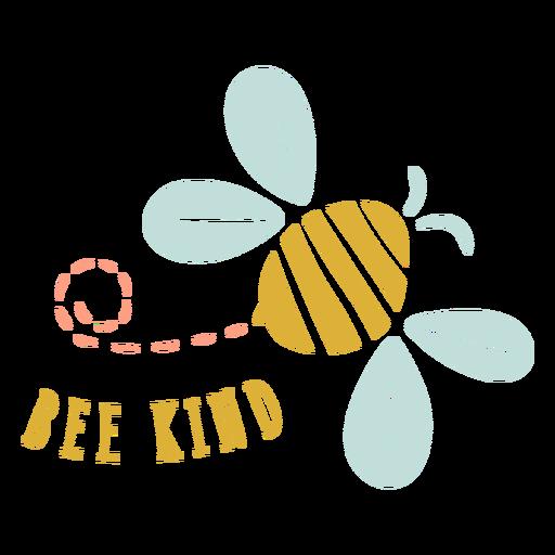 Bee kind badge