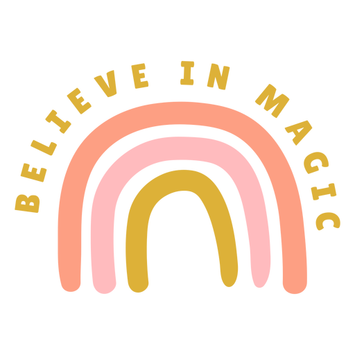 Believe in magic badge