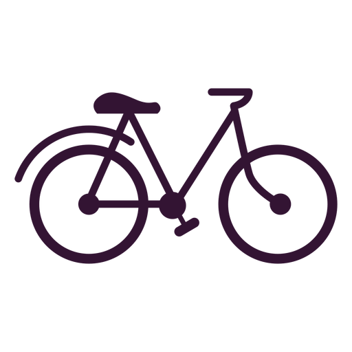 Bicycle vehicle stroke Transparent PNG