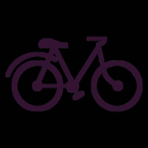 Golpe de vehículo de bicicleta