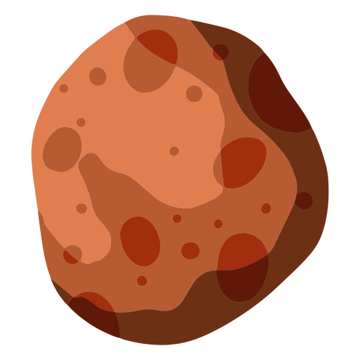 Ilustraci?n de gran asteroide