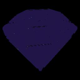 Big diamond blue