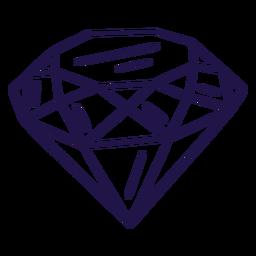 Big diamond stroke