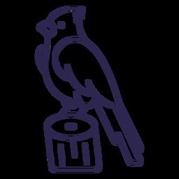 Bird in trunk stroke