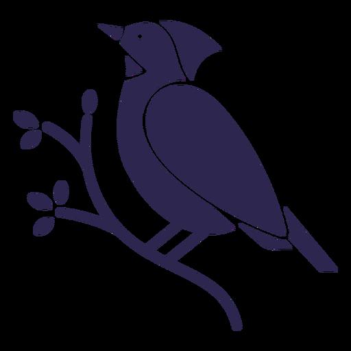 Cardenal pájaro negro Transparent PNG