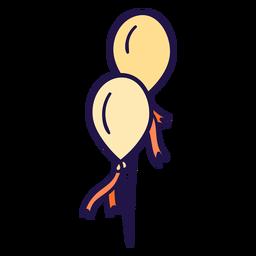 Ilustração de balões de celebração