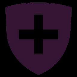 Icono de escudo de Suiza