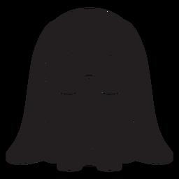 Lindo conejo marrón negro