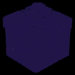 Cute present blue