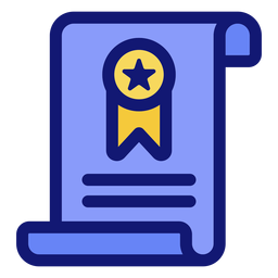 Diplom-Abschluss-Symbol