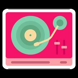Adesivo de DJ mixer