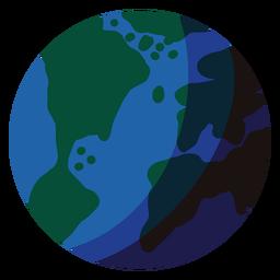 Ilustração do planeta Terra Terra