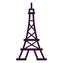 Eiffel tower stroke