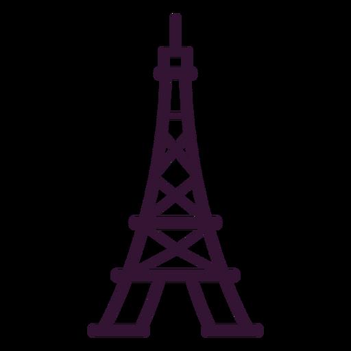 Eiffel tower stroke