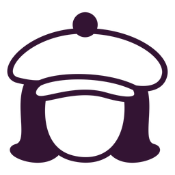 French beret stroke