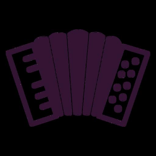 German accordion stroke Transparent PNG
