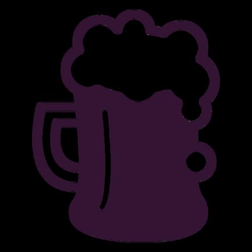 Golpe de cerveza alemana