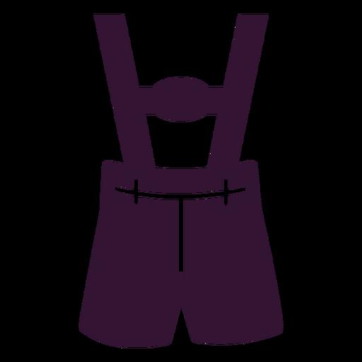 Lederhosen alemán plano