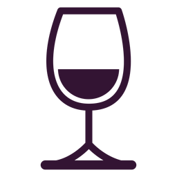 Copo de vinho derretido