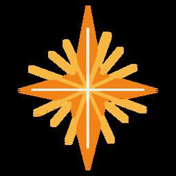 Glowing star flat