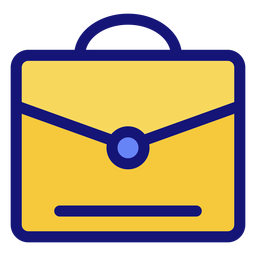 Graduation briefcase icon