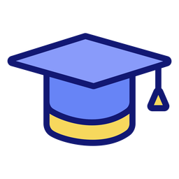 Graduation cap icon cap