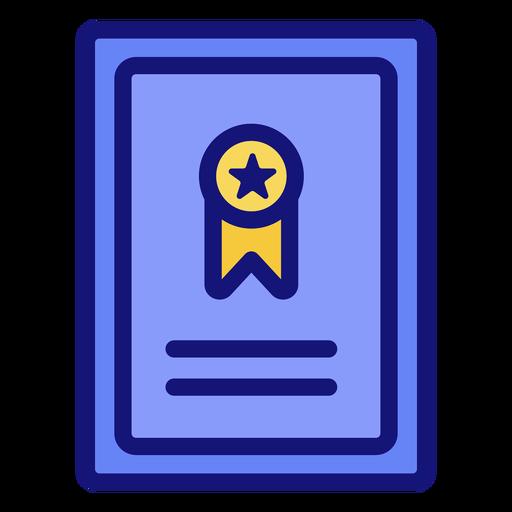 Graduation ribbon icon Transparent PNG