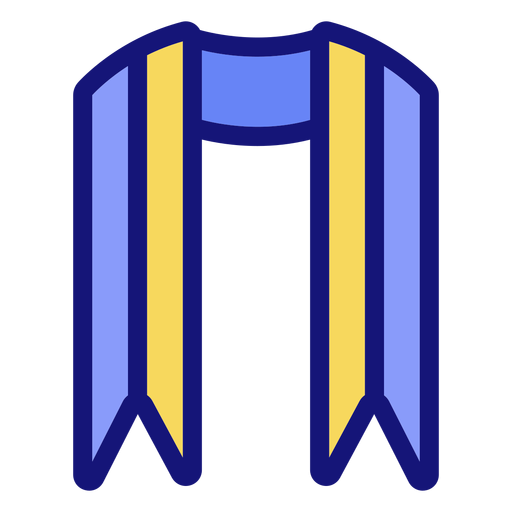 Icono de marco de graduación