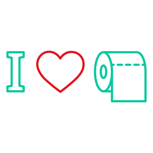 I love toilet paper badge