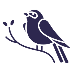 Pájaro del empavesado índigo negro