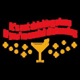 Não está bebendo sozinho letras