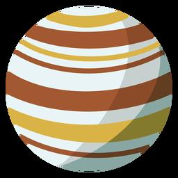 Ilustração do planeta Júpiter