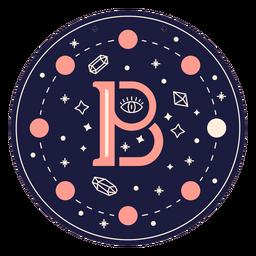 Letter b magic banner