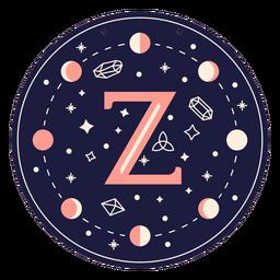 Letter z magic banner
