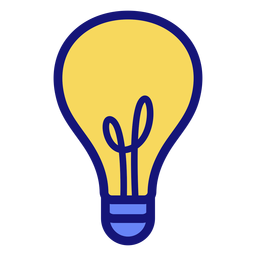 Lightbulb stroke icon