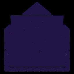 Carta de amor azul