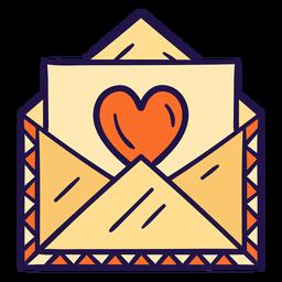 Carta de amor plana