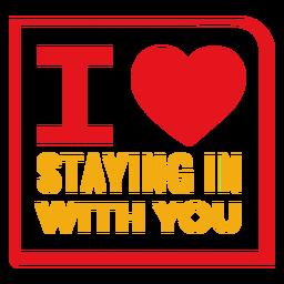 Adoro ficar com você letras