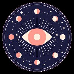 Banner de ojo mágico