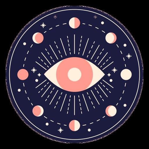 Magic eye badge