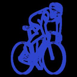 Curso de ciclista masculino